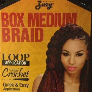 Crochet Box Medium Braid 22in (6 packs)
